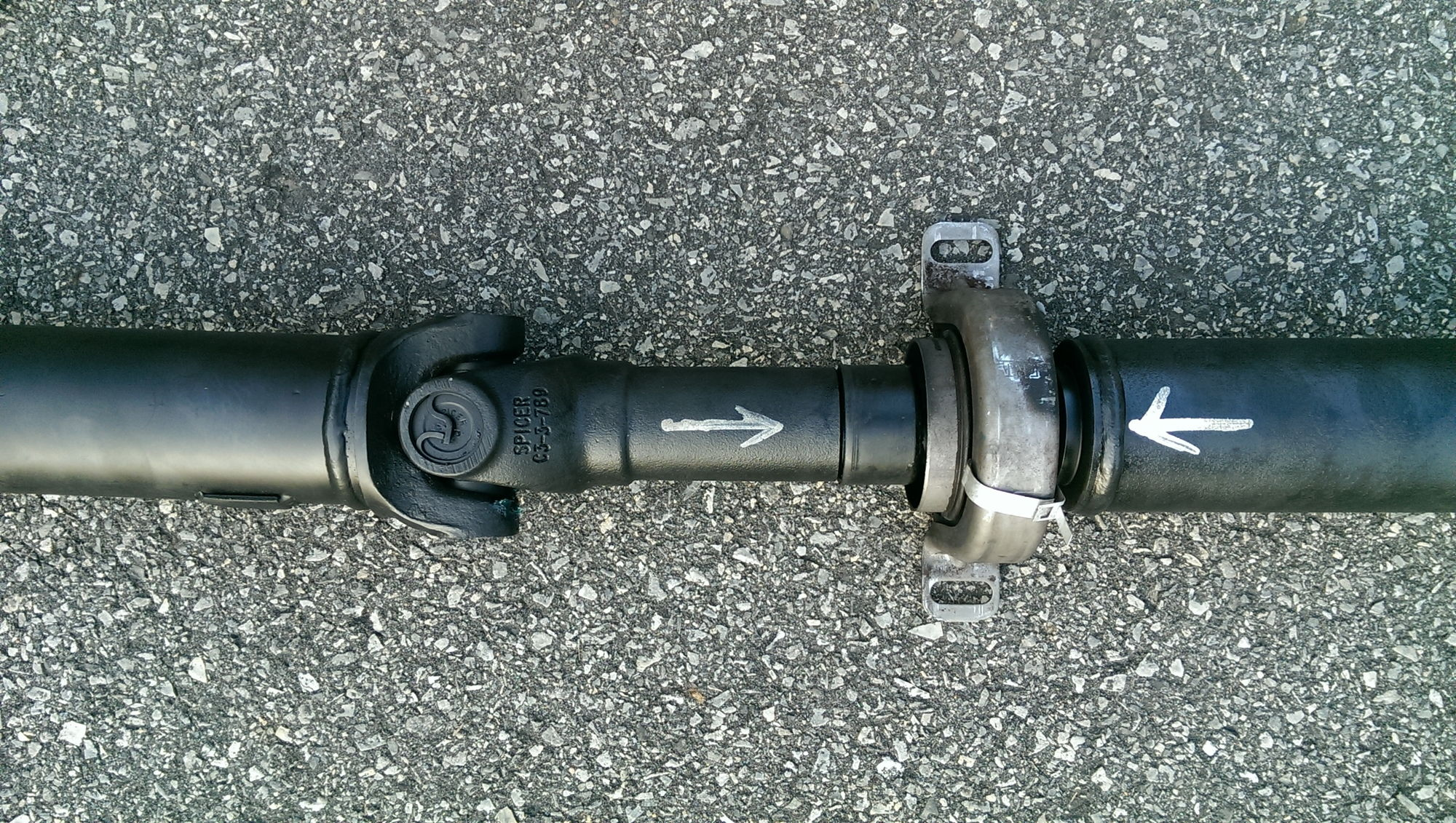 Aluminum driveshaft install f150online forums changing it out was pretty simple sciox Image collections