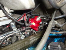 Lightning  Harley  truck  fuel  system bandaid  write up  pics