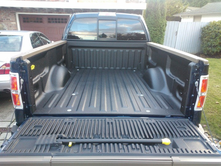 Line X Bedliner And 3m Clear Bra On 2013 Kr F150online