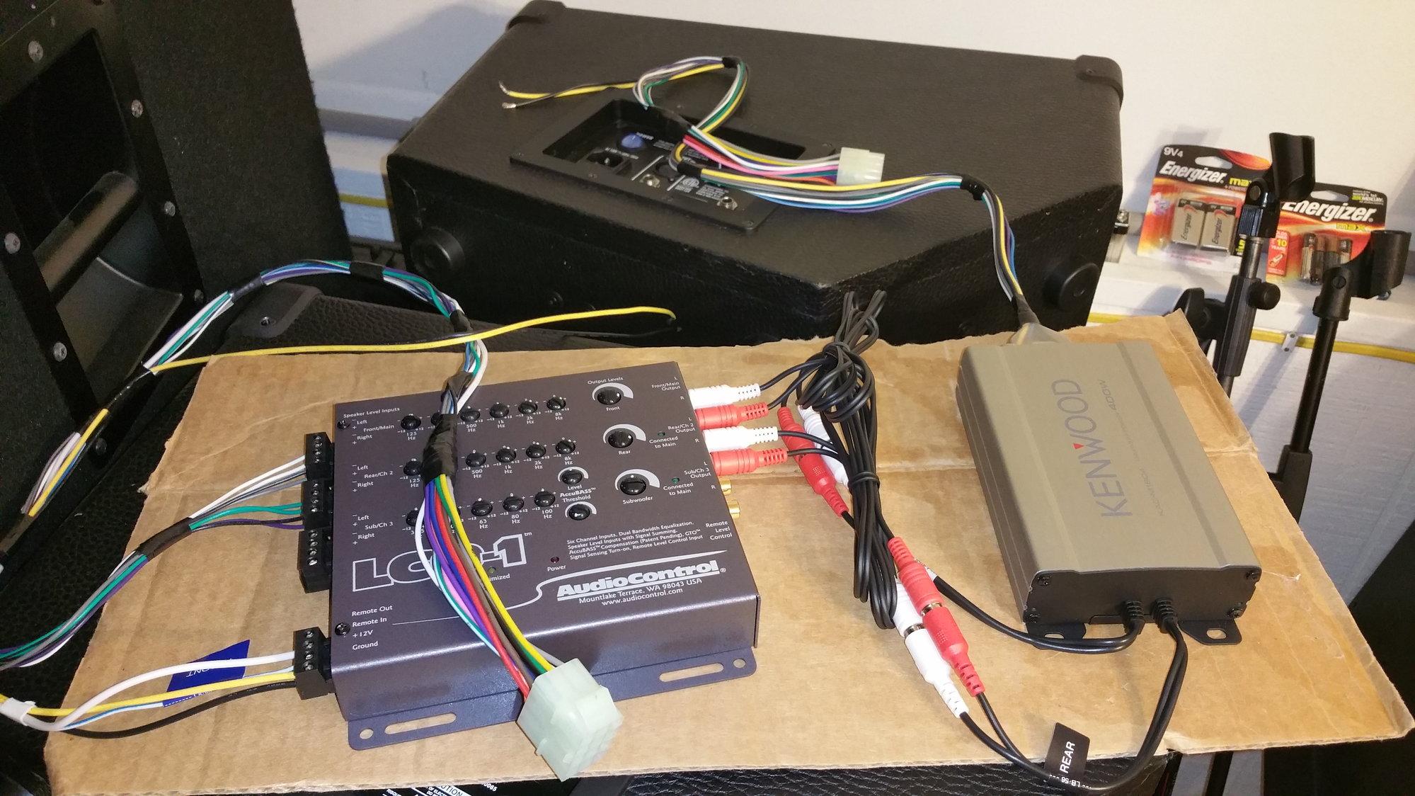 Upgrade Of Speaker System With Oem Hu