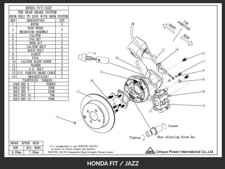 Honda Civic Front Suspension Diagram Http Wwwebaycom Itm Wilwood