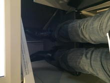Business - Legroom in lounge mode