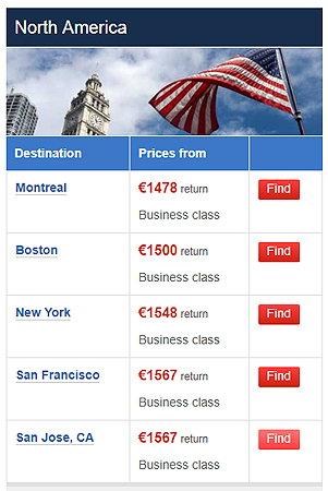 premium deals flyertalk