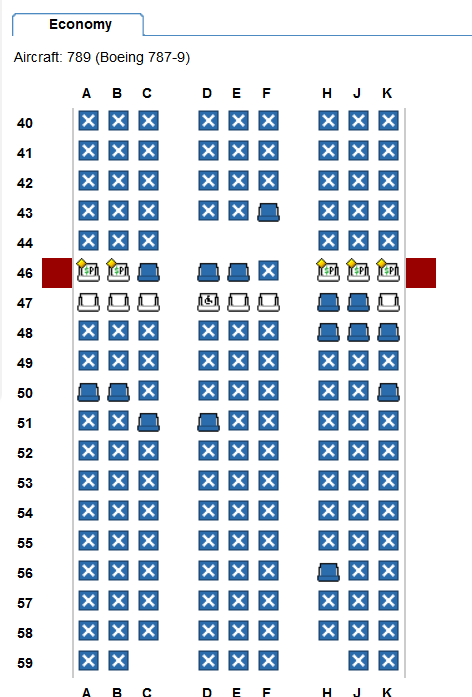 Blocked Seats on upcoming QF Flight - FlyerTalk Forums