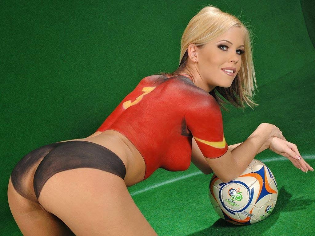 Girls bikini sexy erotic soccer