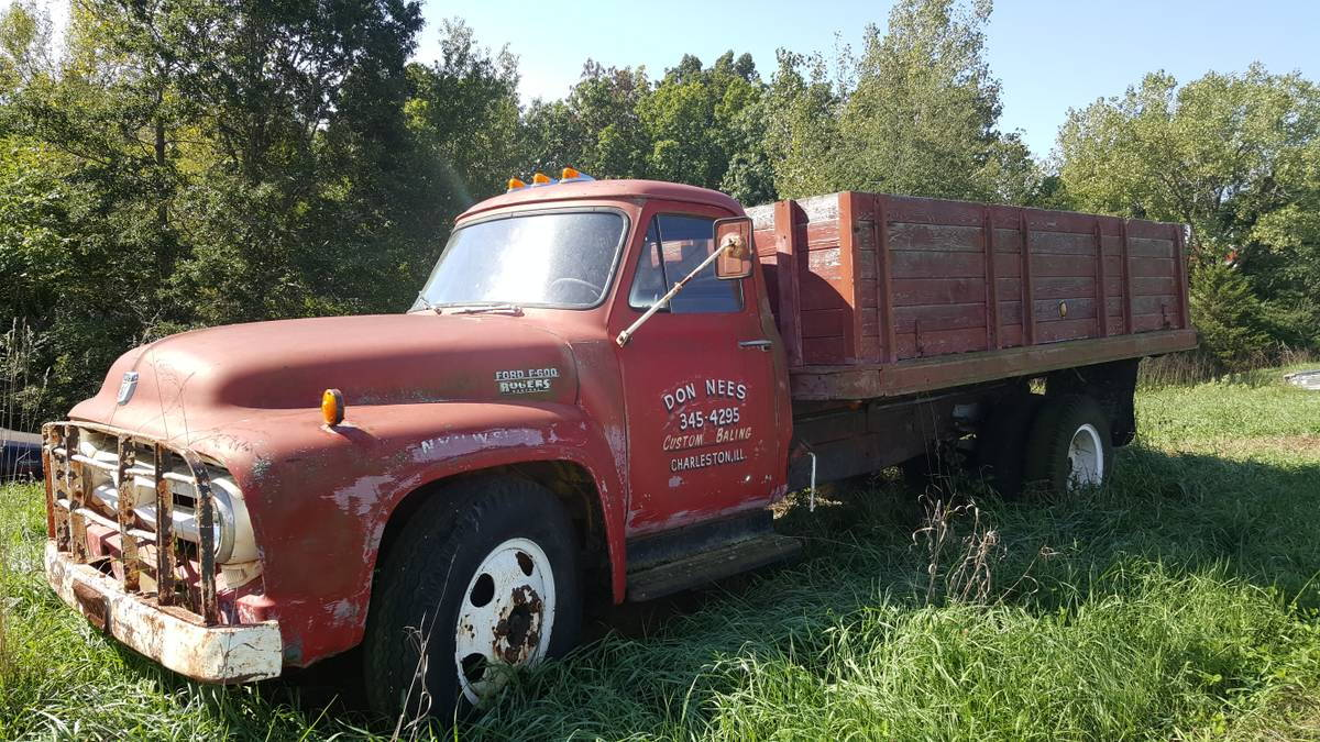 1954 ford f600 1956 ford f350