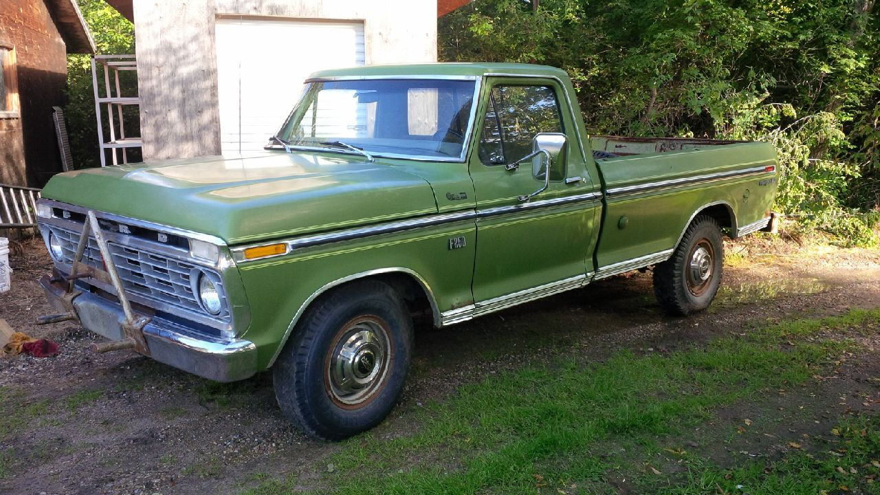 introduction 1975 f250 ignition questions ford truck. Black Bedroom Furniture Sets. Home Design Ideas
