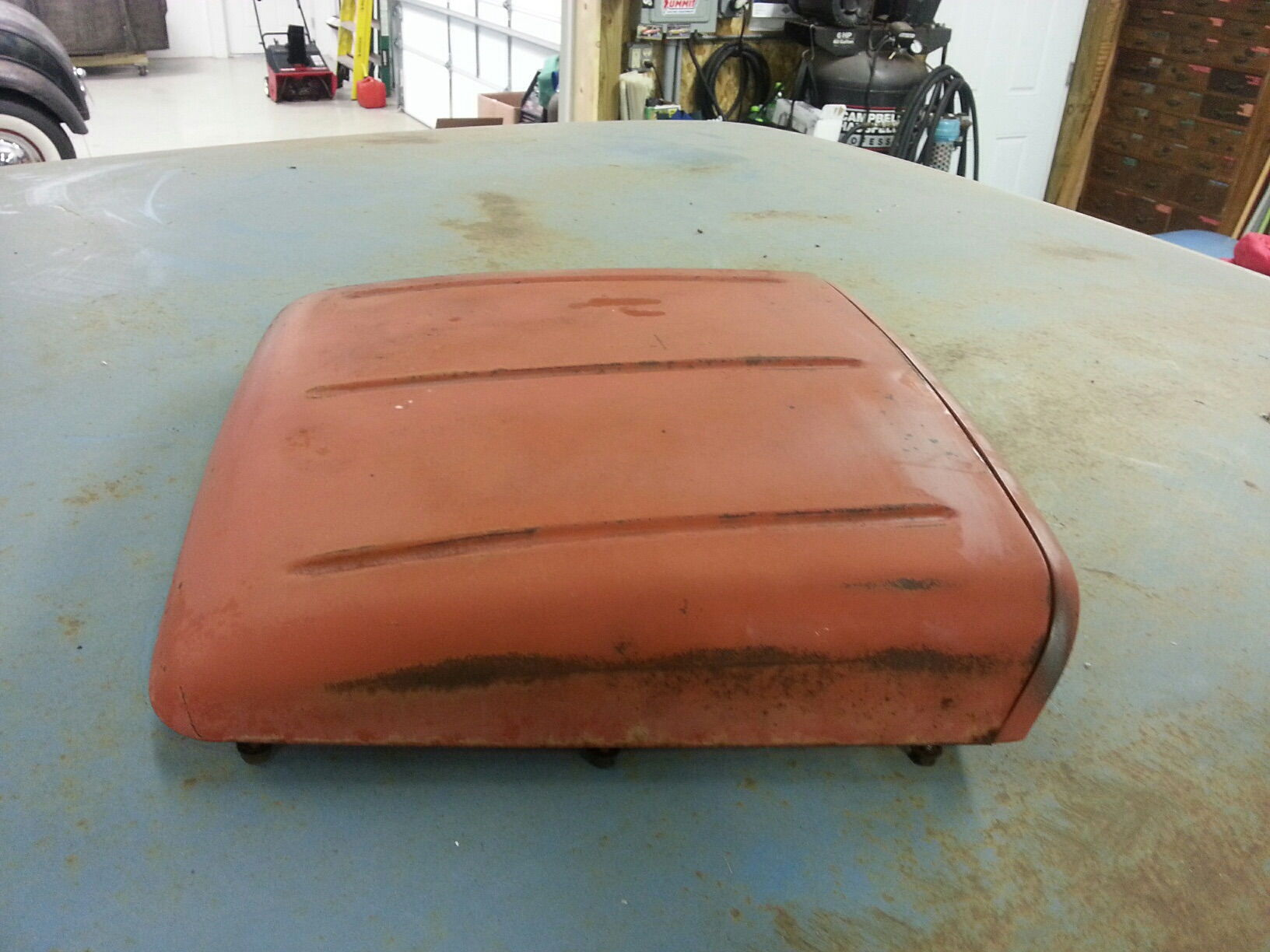 Ford Super Duty Hood Scoop F850 - Ford Truck Enthusiasts ...