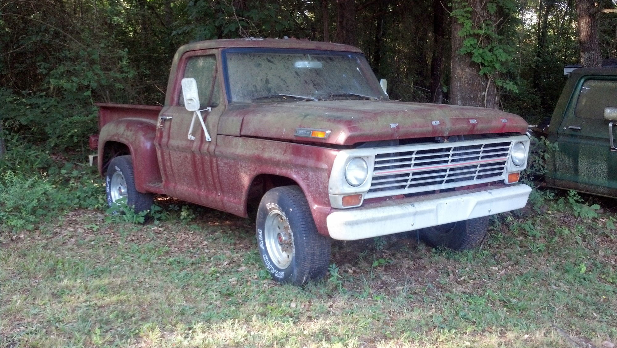 69 F100 Stepside Solid Project Ford Truck Enthusiasts Forums