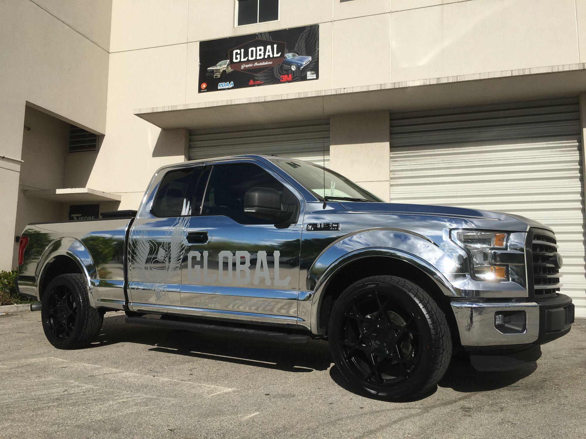 polished aluminum f 150 ford truck enthusiasts forums. Black Bedroom Furniture Sets. Home Design Ideas