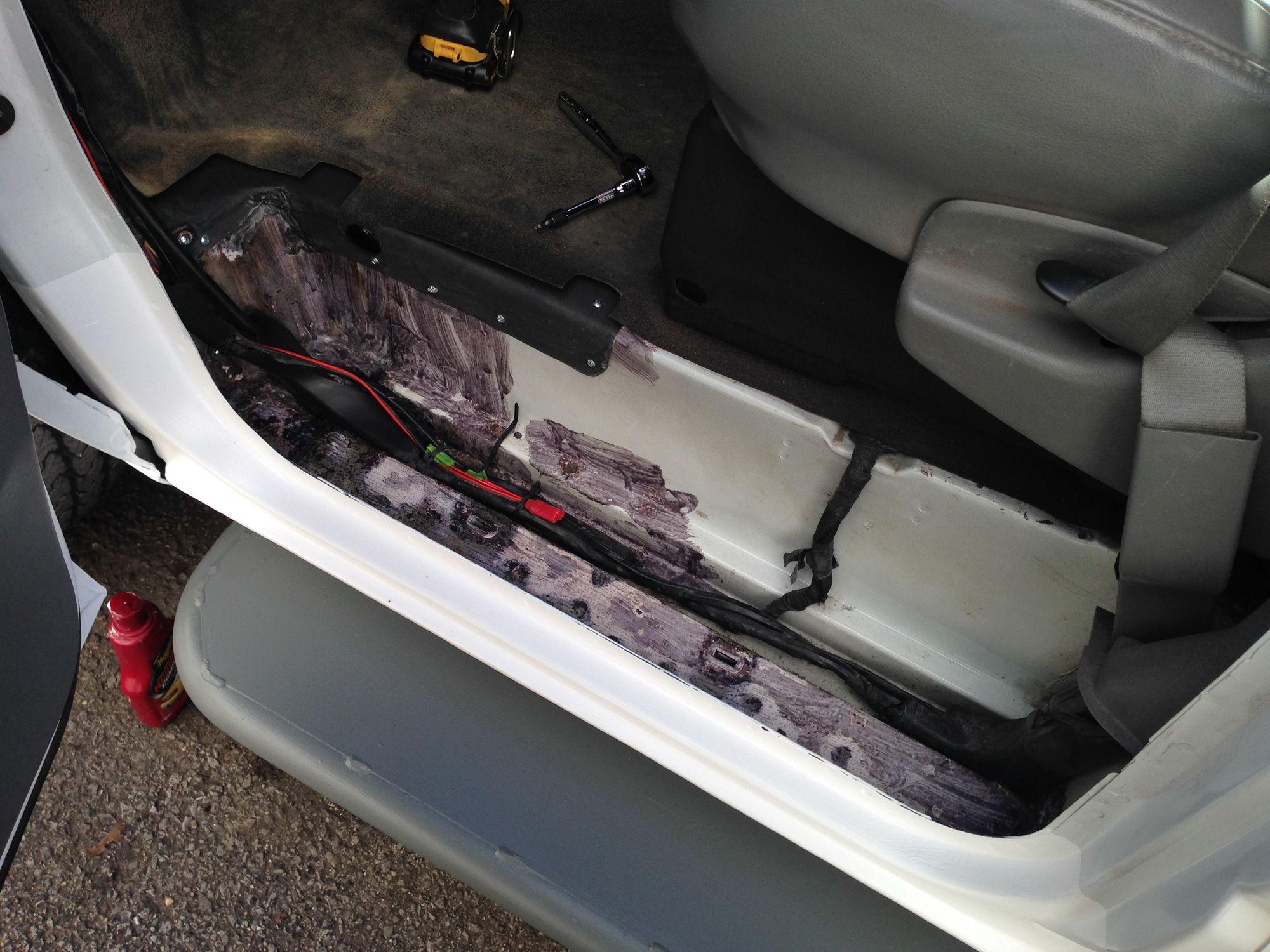 how to stop rust under truck