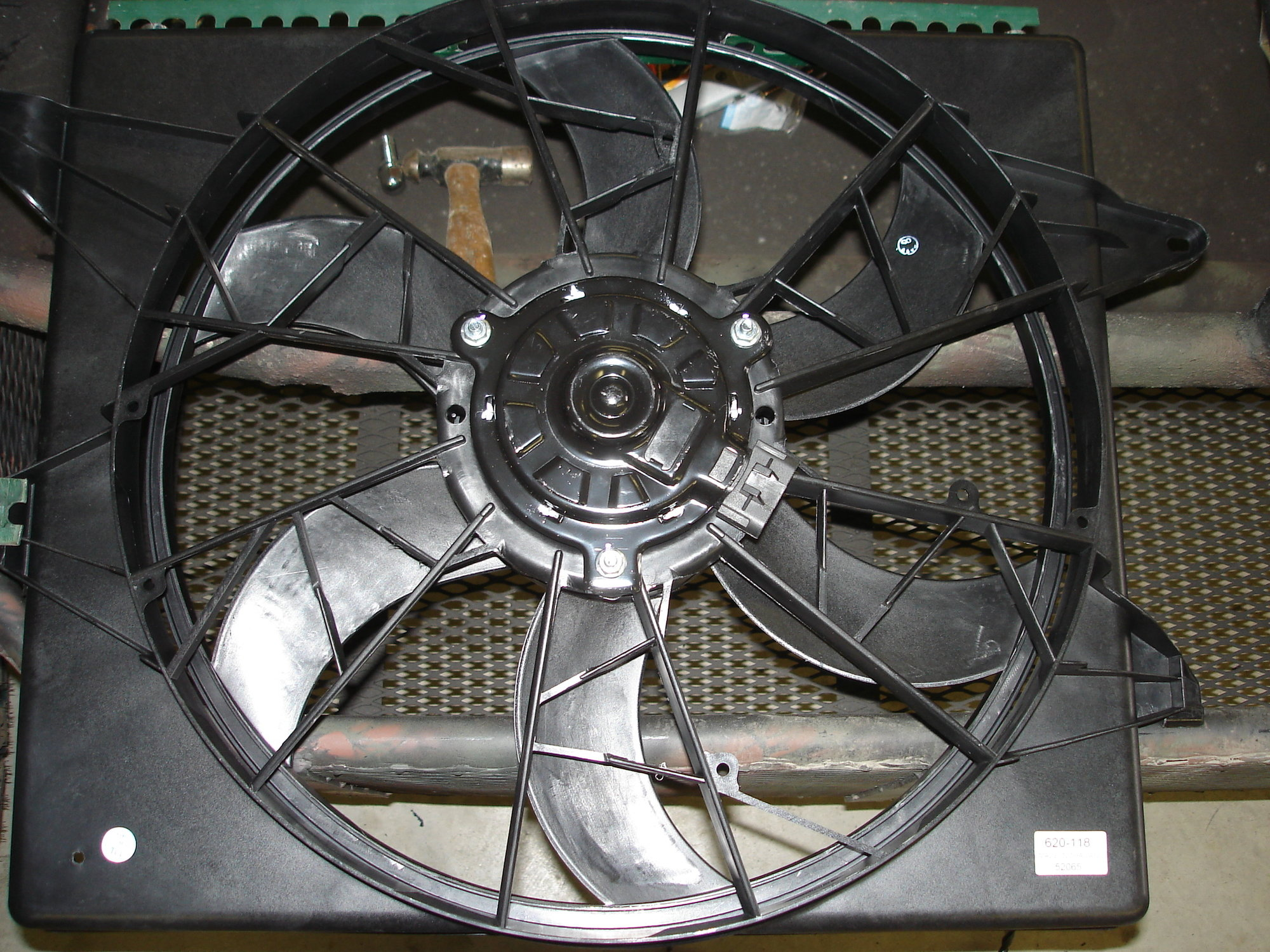 Thunder Bird - Lincoln Mark VIII Electric Fan Mod - Ford