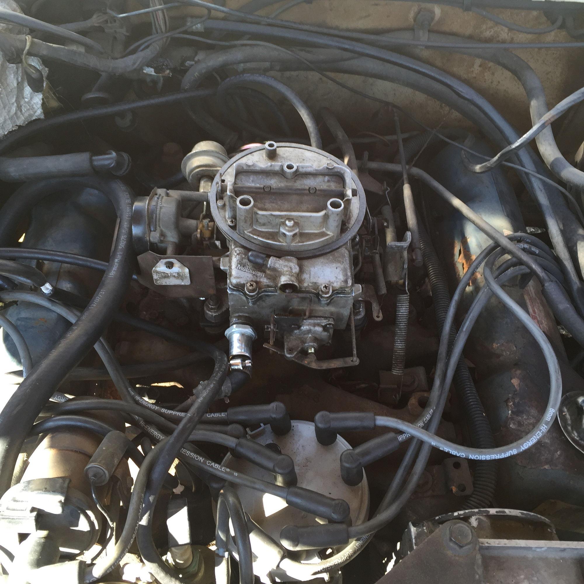 78 F100 351m Motorcraft 2bbl Vacuum Help