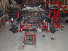 Straight axle conversion