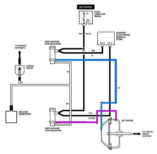 vaccum reservoir lines - ford truck enthusiasts forums plumbing vacuum reservoir diagram