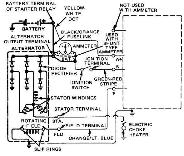 alternator wiring 3 wires