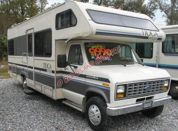 newbie here with 1986 ford econoline holidaire rv