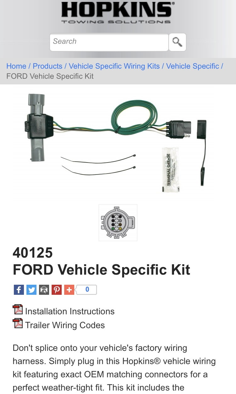 1989 F150 302 - Trailer Lights Wiring Harness Problems