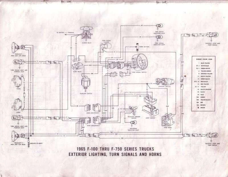 Fein Ford F100 Schaltplan Fotos - Elektrische ...