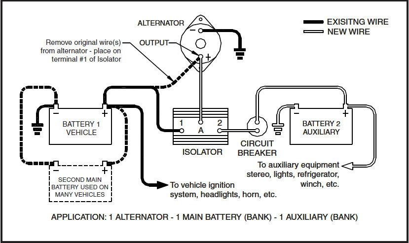Noco Battery Isolator Wiring Diagram, Noco Battery Isolator Wiring Diagram