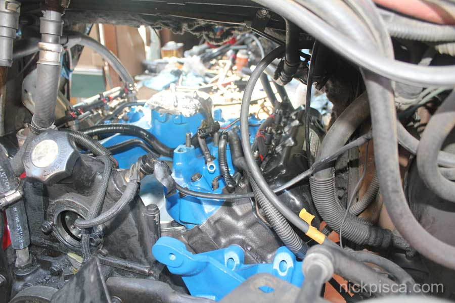 1988 E250 7.3 IDI Head Gasket Job (without pulling the engine ...