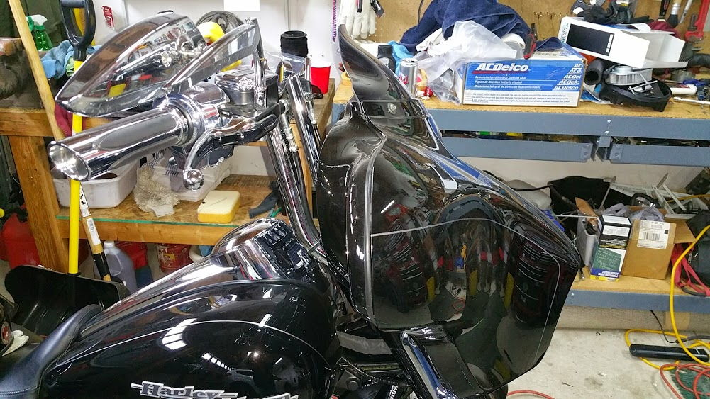 Mirrors On Apes Page 4 Harley Davidson Forums