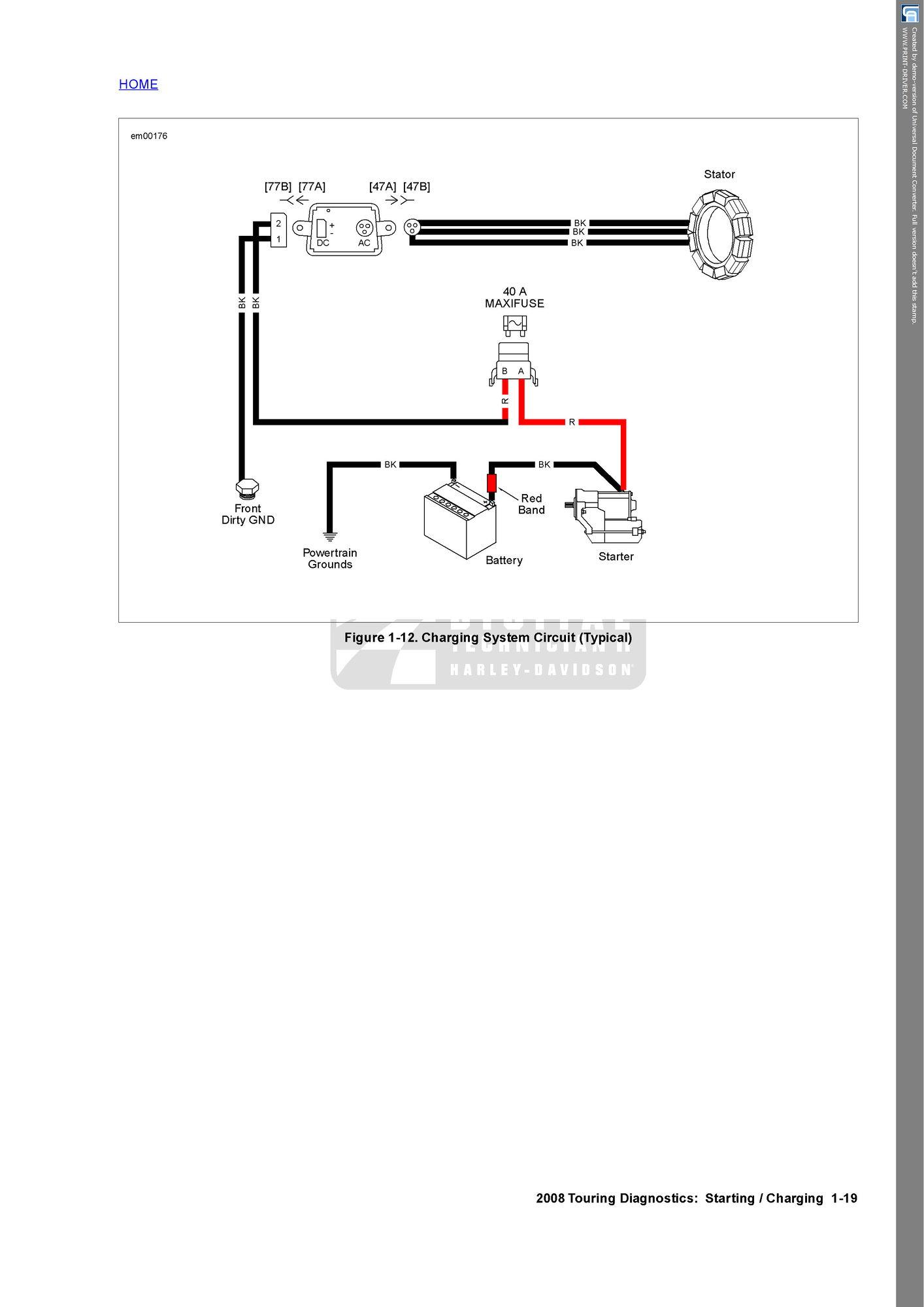 voltage street glide touring harley davidson forums Auto Electrical Diagnostics Diagnostic Electrician