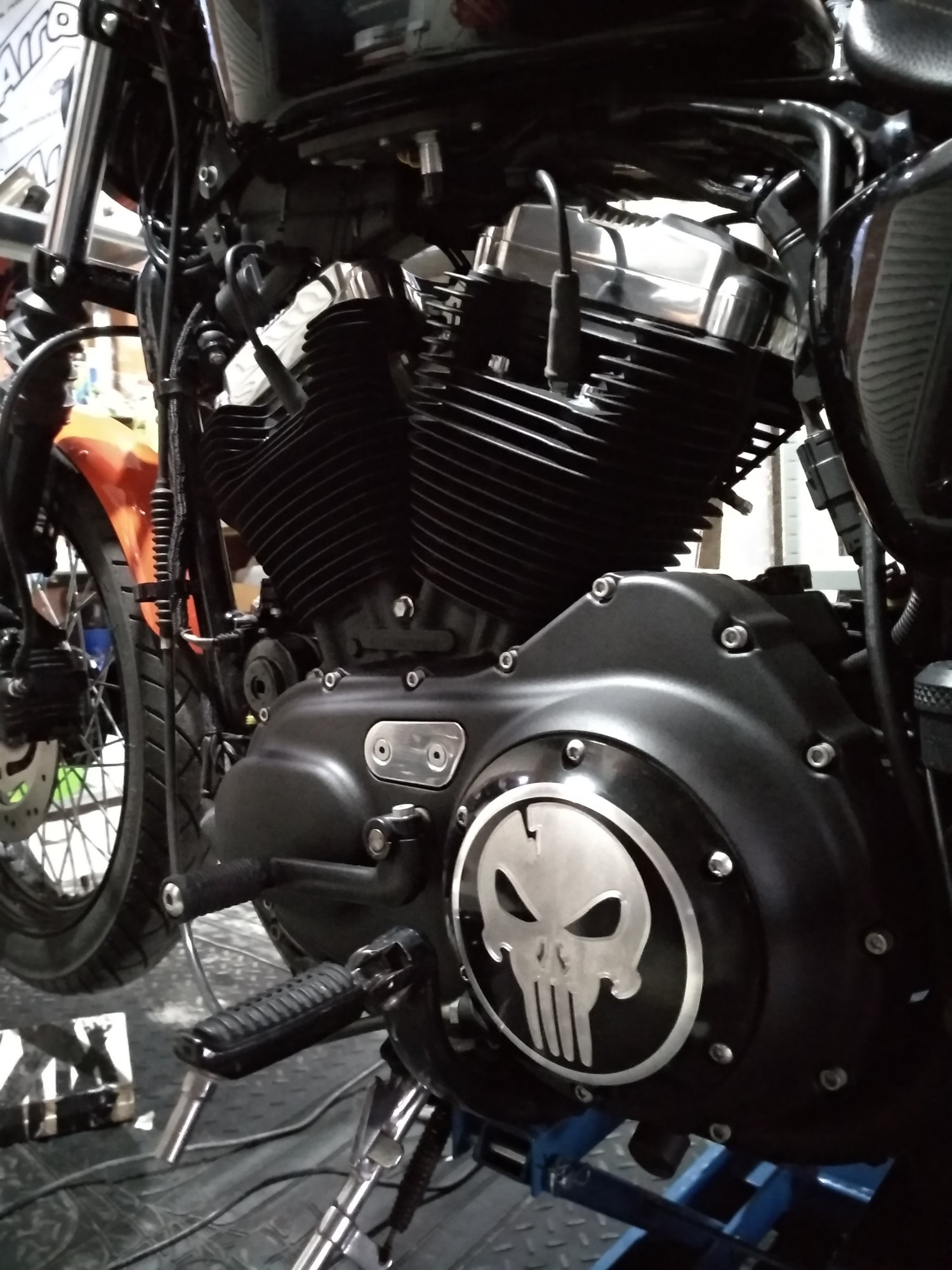 Nightster Engine Paint Project