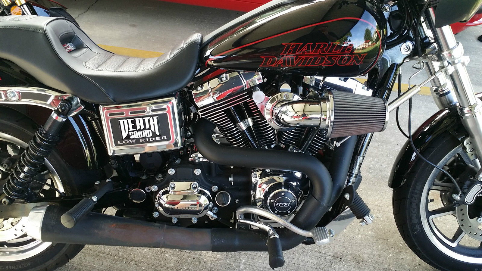 Steve The Russian New 2014 Dyna Low Rider Fxdl Build