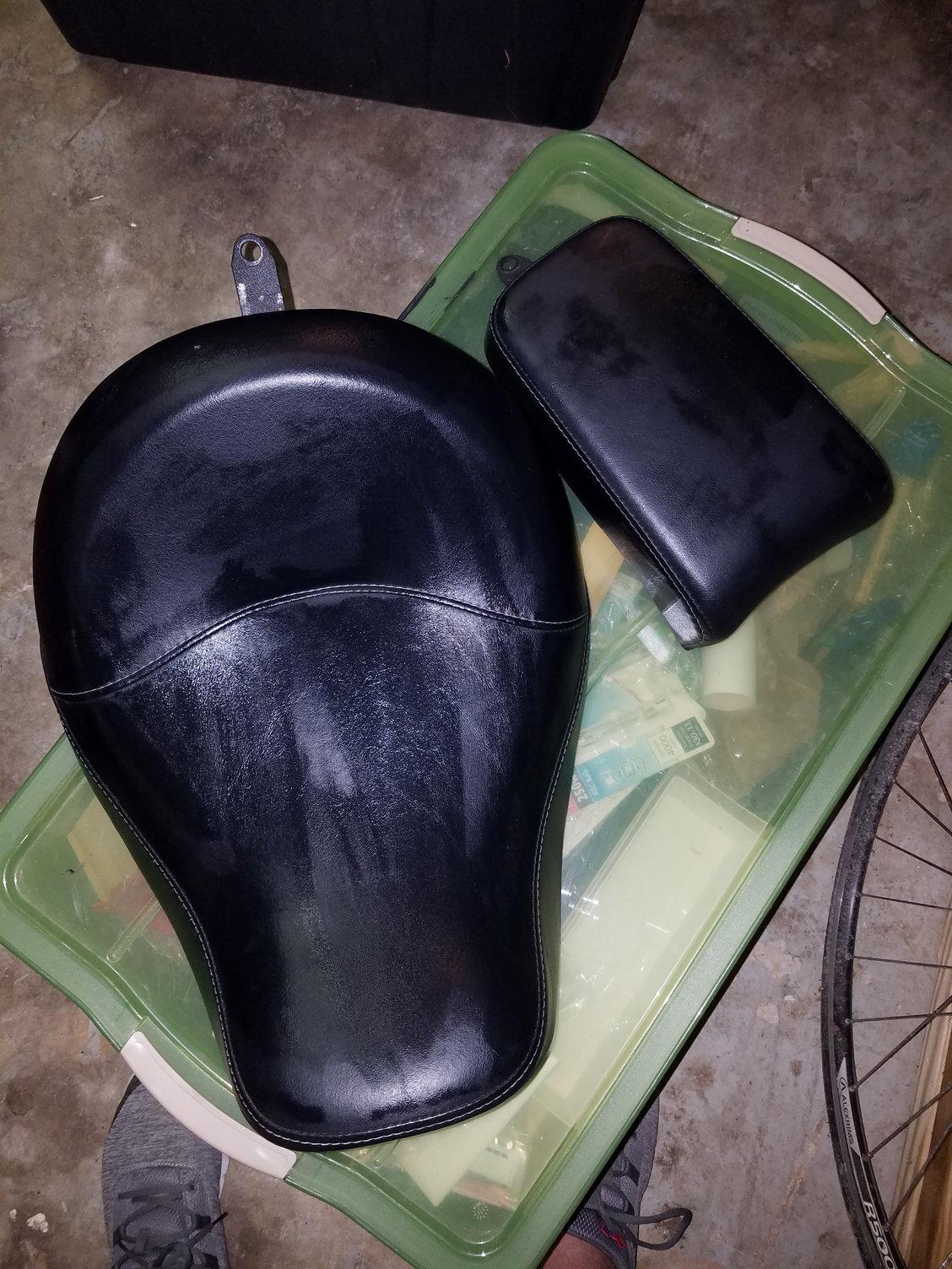 Harley davidson stripper motorcycle seat