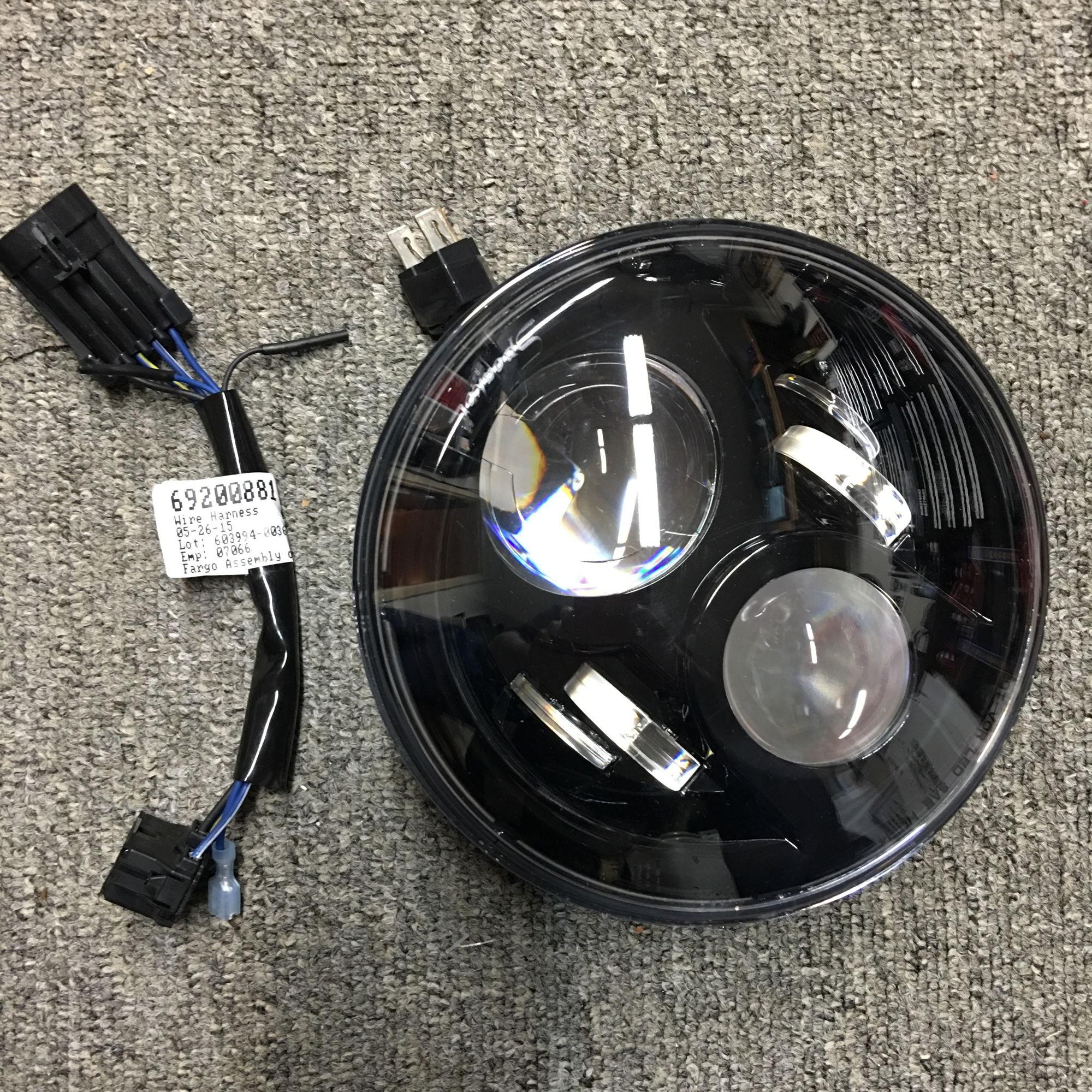 Jw Speaker 8700 Evolution 2 7 Quot Led Headlight Black