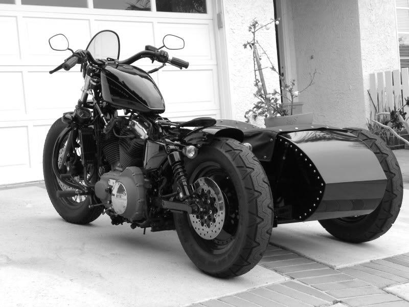 Harley Sportster  Sidecar