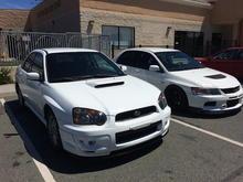 2005 Subaru WRX Aspen white