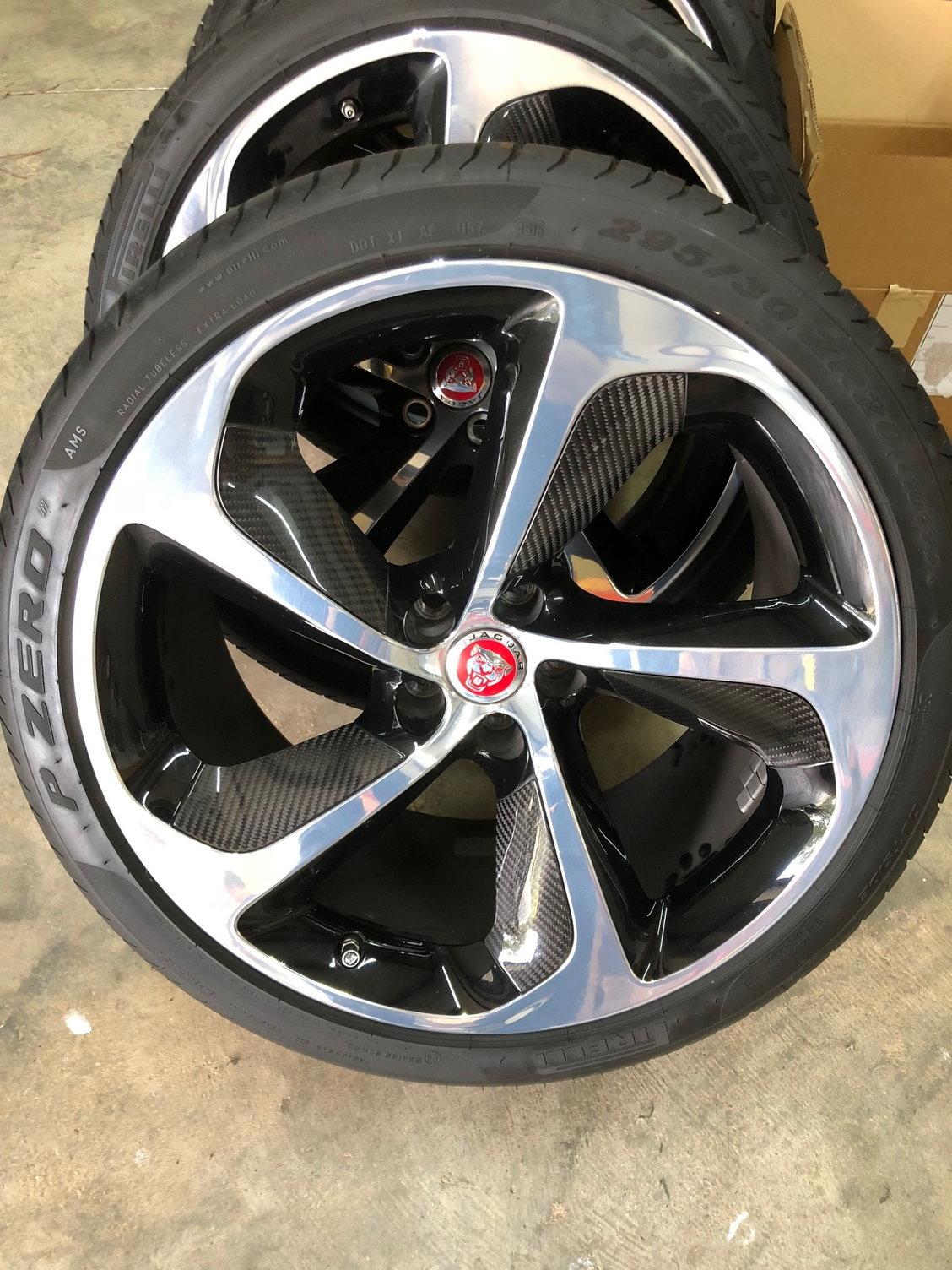Used Wheels For Sale >> Jaguar F Type Set Of 4 Oem Used Wheels For Sale Jaguar Forums
