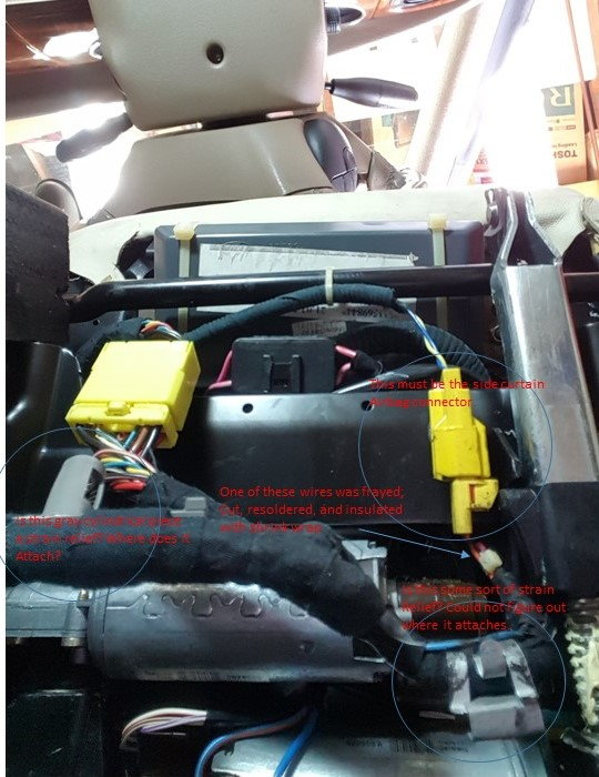 Flash Code 22 Fixed And Question About Driver U0026 39 S Side Seat