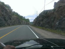 Cruising up in Burks Falls area 2013