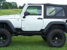 jeep jk black wheel 004
