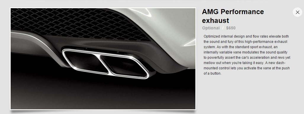 Also As It Pertains To The Cla45 Amg Performance Exhaust Option Here Is What I Was Able Find It's Primarily A Resonator Delete With Few Other: Amg Performance Exhaust System Selectable At Woreks.co