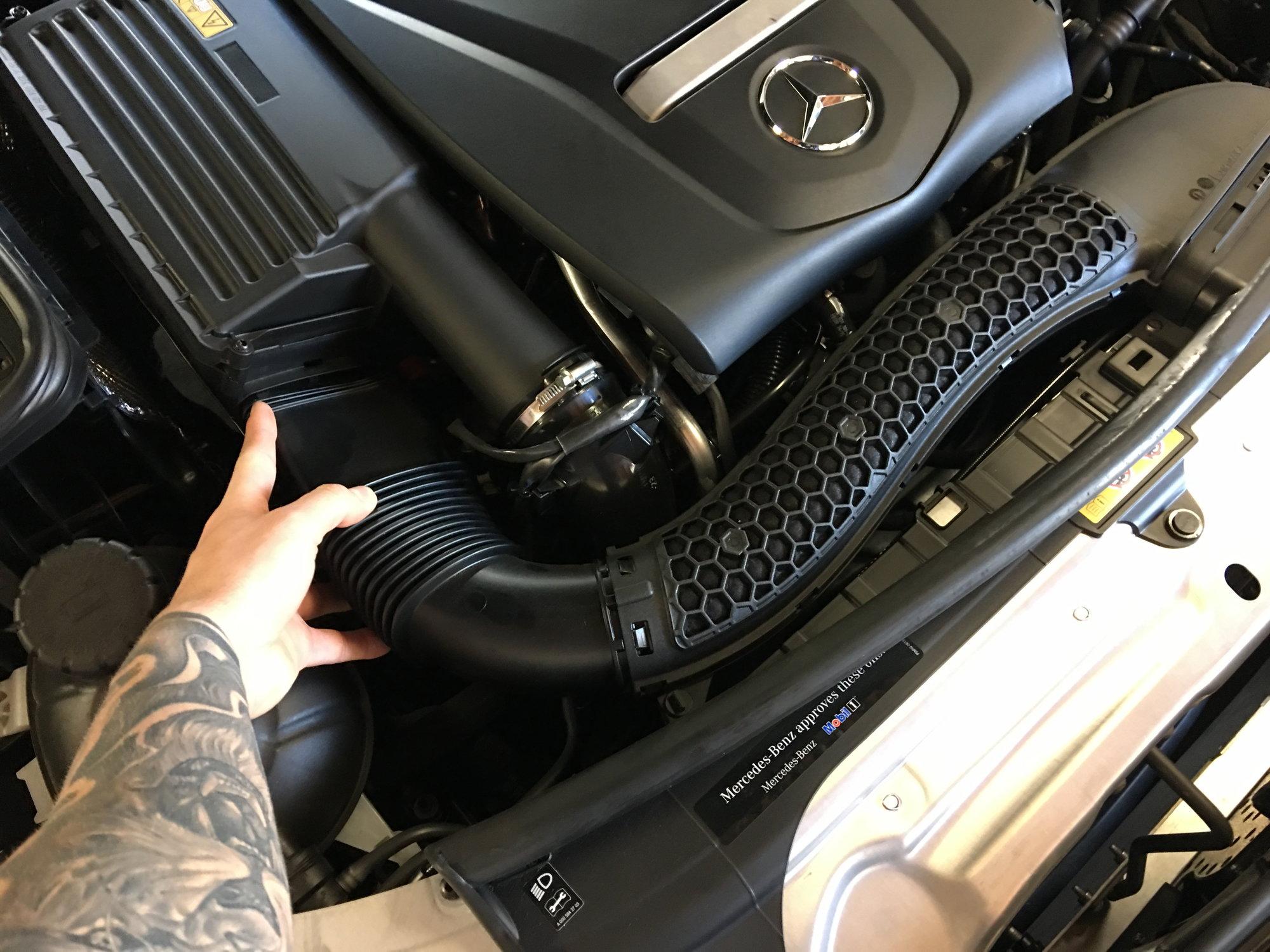 DIY install blow off valve spacer (BOV) pshhh - MBWorld org