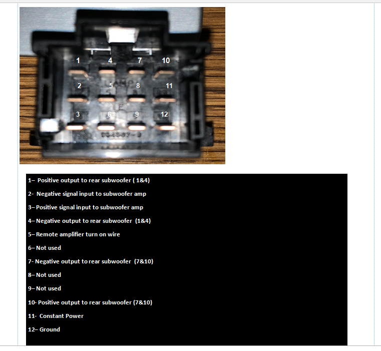 w212 2014 detailed subwoofer install  mbworld forums