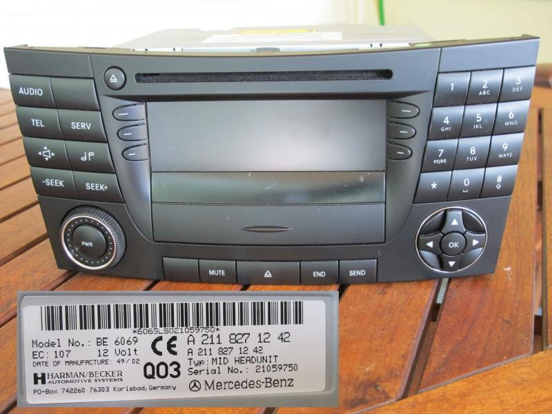 Aftermarket Stereo Install 03 E500 - MBWorld org Forums