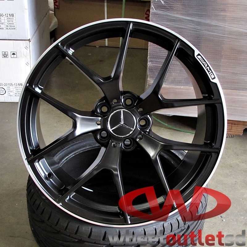 Which amg wheels 5 spoke vs multispoke forums for Mercedes benz amg rims for sale