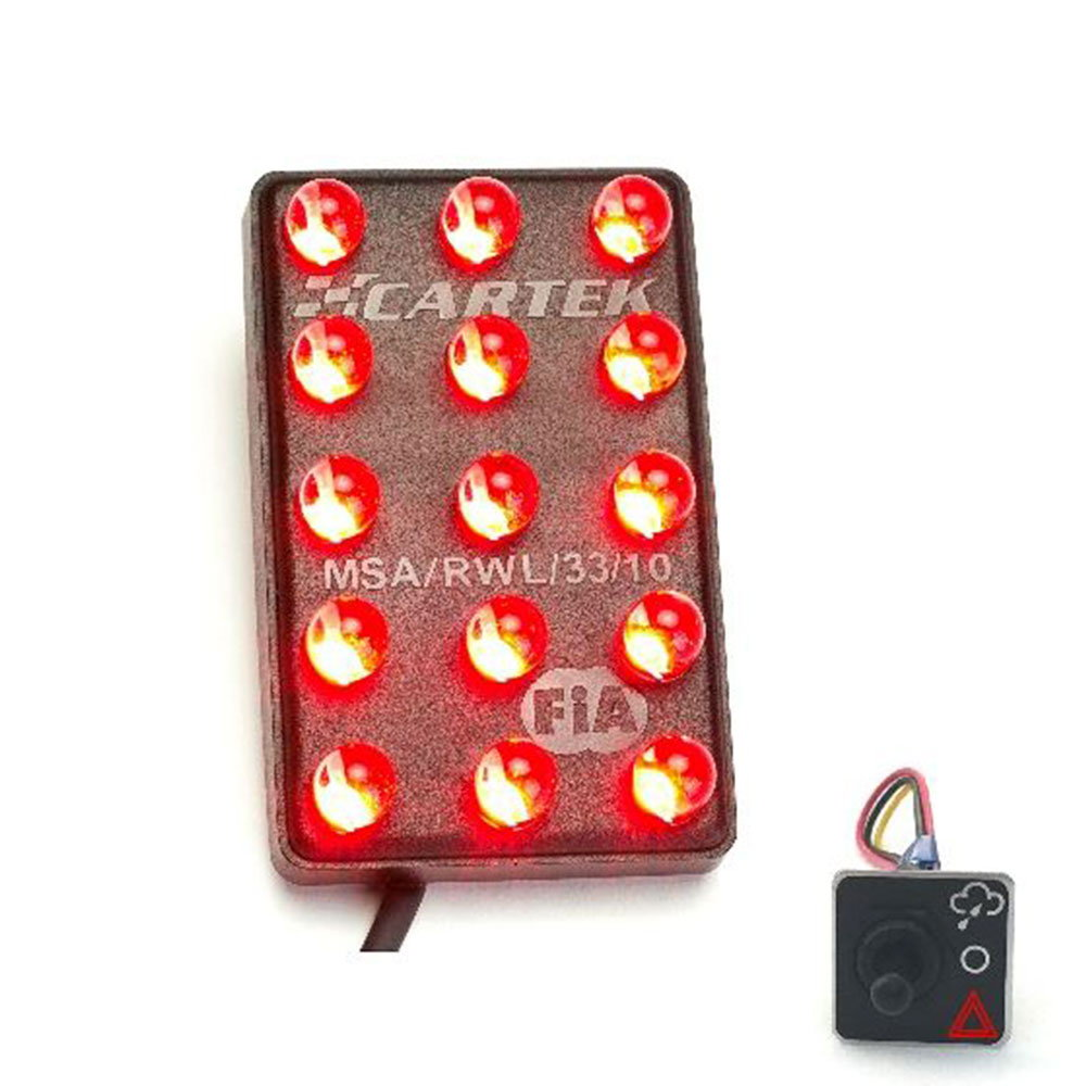 Cartek Cool Down Lap Light