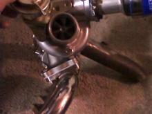 16g custom 2.5 down pipe
