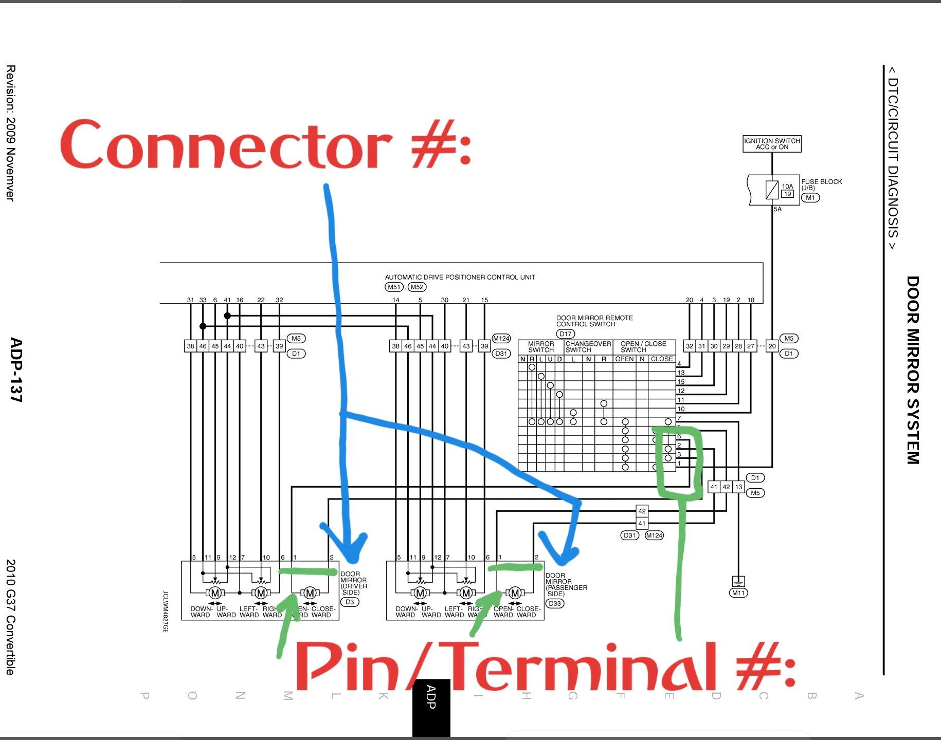 diy auto folding mirror module install - myg37  myg37