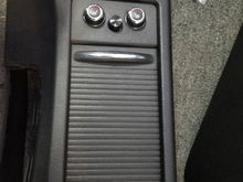Sub control mounted between seat heater control