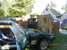 The RX7 Rally Car
