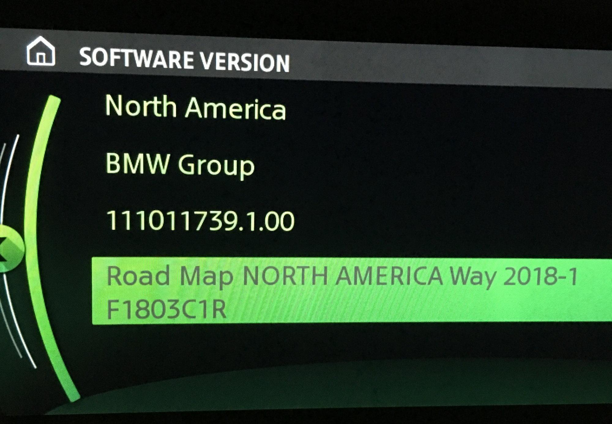 F60 Navigation Map Update North American Motoring
