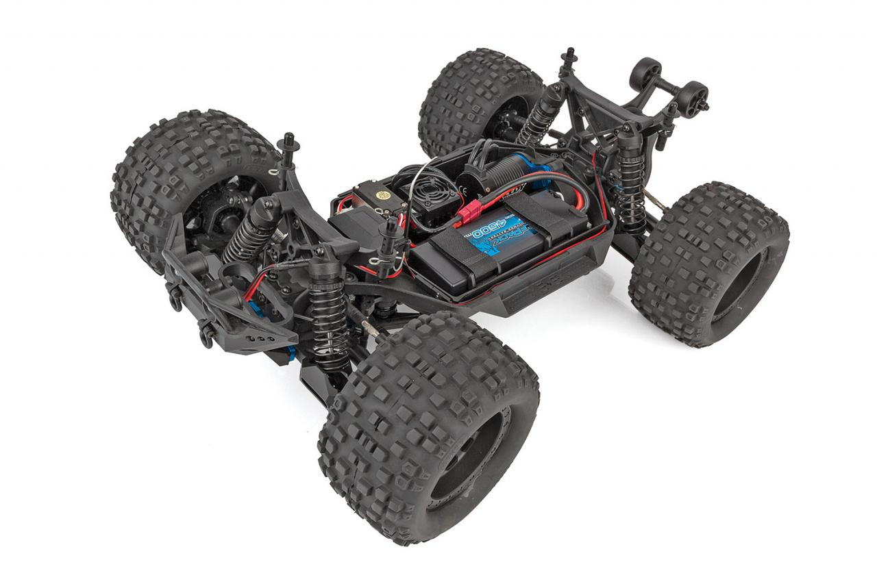 Rival MT10 Red /& Blue Body Team Associated