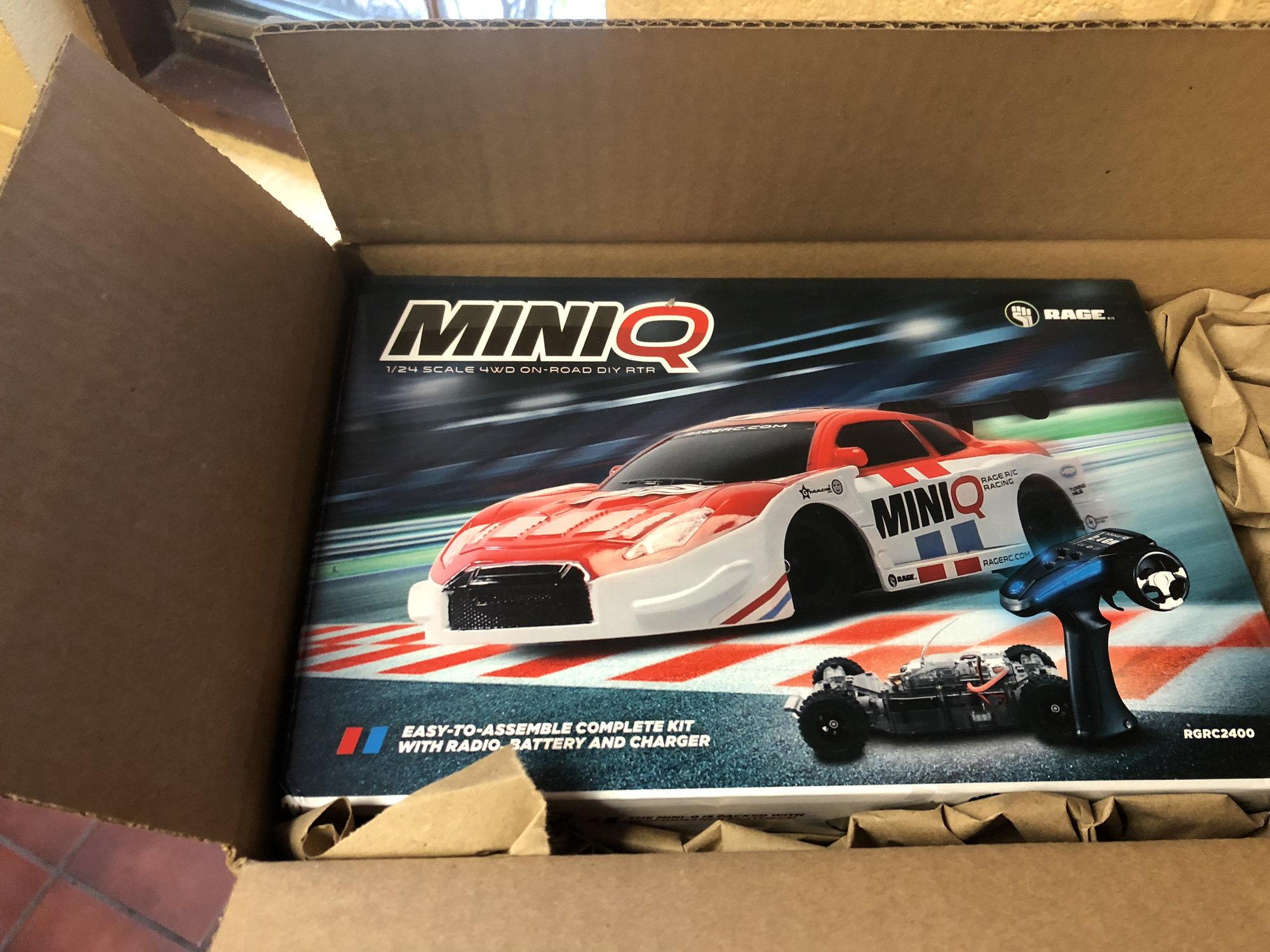 Rage R//C Mini-Q 1//24 Scale 4WD On-Road DIY RTR